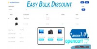 Easy opencart bulk discount