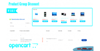 Easy opencart group discount