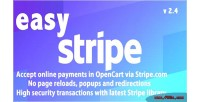 Easystripe online payments v2 opencart for 4