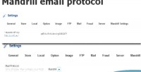 Email mandrill opencart for protocol