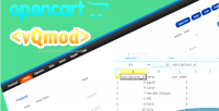 Export opencart vqmod option csv