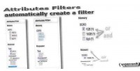 Filters attributes for opencart