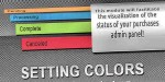 For colors orders vqmod status