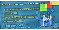 Gift opencart manager
