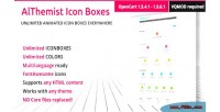 Icon unlimited opencart for boxes