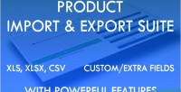 Import product export suite