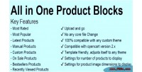 In all blocks product one