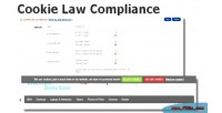 Law cookie opencart for compliance