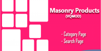 Masonry opencart products search category for