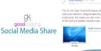 Media social share