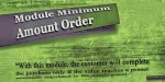 Minimum module amount vqmod order