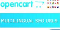 Multilingual opencart seo vqmod urls