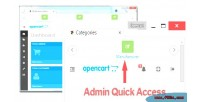 Opencart 2 0 admin jump access quick