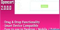Opencart 2 drag drop product image vqmod upload