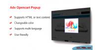 Opencart adv popup