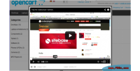 Opencart adv product videos