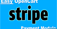 Opencart easy module payment stripe