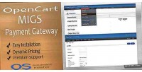 Opencart migs payment gateway