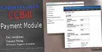 Payment ccbill opencart for module