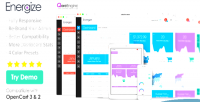 Premium energize responsive admin opencart bootstrap theme