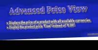 Price advanced view