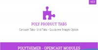 Product poly tabs module 2 opencart
