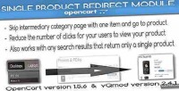 Single product redirect module vqmod opencart for