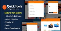 Quick so tools responsive view quick tools module opencart function