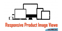 Responsive opencart viewer image product