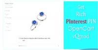 Rich pinterest pin vqmod opencart marker