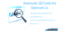 Seo automatic opencart for links