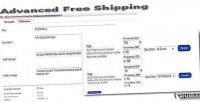 Shipping free opencart for enhanced