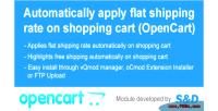 Shipping module for opencart ocmod vqmod shipping
