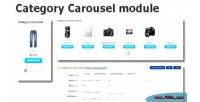 Slider category carousel opencart for module