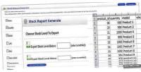 Stock opencart reports generate