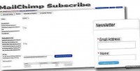 Subscribe mailchimp for opencart