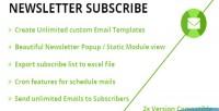 Subscriber newsletter