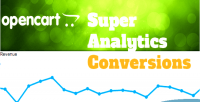 Super opencart analytics conversions