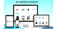 Super so category module opencart responsive