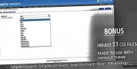 Switcher stylesheet opencart module