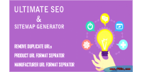 Ultimate opencart seo generator sitemap and