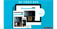 Video so box module opencart responsive