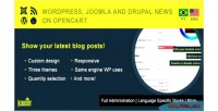 Wordpress joomla & drupal opencart on posts