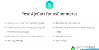 Ajxcart posc ajax to add oscommerce for cart