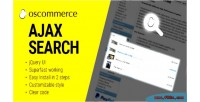 Search ajax oscommerce for autocomplete