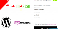Pesa m mobile woocommerce for payment