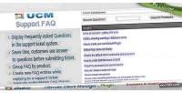 Plugin ucm database faq support