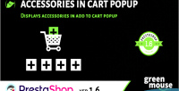 Accessories prestashop popup cart in