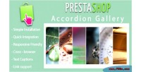 Accordion responsive prestashop for slideshow