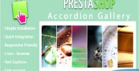 Accordion responsive prestashop for slideshow
